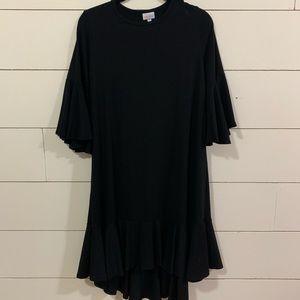 Solid Black Lularoe Maurine Dress